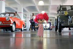364/366 old cars (omgdolls) Tags: blythedoll blythe blythe365 adelaideskye dollypunk21 pureneemobody pink