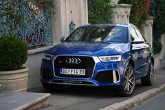 Audi RSQ3 (Vuk Vranic) Tags: audi rsq3 car cars supercars supercar luxury exotic auditeam teamrs blue canon eos 350d digital canoneos350d canoneos350ddigital autogespot photosbgd spotting carspotting flickr dedinje serbia srbija belgrade beograd 2016