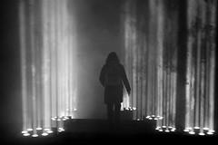 Porticus 3.0 (Wackelaugen) Tags: black white bw blackwhite blackandwhite mono canon eos photo photography wackelaugen googlies silhouette person street art light rays walk walking ditzingen germany porticus30 erikmtrai konstanzerkirche