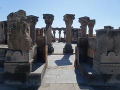 Zvertnotz cathedral ruin (fchmksfkcb) Tags: garni geghard edjmiatsin echmiadzin armenien armenia hayastan zvertnotz vagharhapat