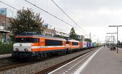 Locon 9909 - Rotterdam-Zuid (rvdbreevaart) Tags: locon 1600 9900 rotterdamzuid rotterdam containertrein