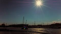 Le port de Blankenberge (Yasmine Hens) Tags: blankenberge contrejour soleil sun port mer sea hensyasmine uropa aaa  belgique blgica    belgio  belgia   bel be