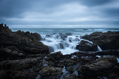 Well (FeralWhippet) Tags: beanhollowstatebeach pacificocean beachscape longexposure waves rocks mist
