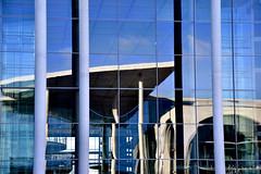 Berlin (peterwoelwer) Tags: berlin reflections reflektionen