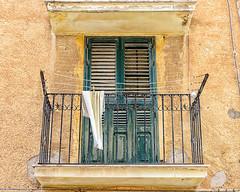 Cefalu (Kevin R Thornton) Tags: d90 balcony travel facade cefalu city architecture 2016 italy sicily nikon cefalã¹ sicilia it