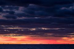 Sailor Take Warning (gseloff) Tags: ships sunrise dawn surf bolivarflats galvestoncounty texas seascape clouds gseloff