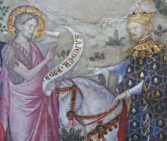 Salimbeni - St. John reproves king Herod, detail (petrus.agricola) Tags: lorenzo jacopo salimbeni scenes life saint john baptist urbino marche italy oratorio san giovanni battista
