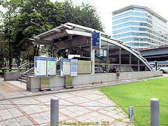 Silom Station on the MRT underground Line in Lumphini Park in 2013, Pathumwan District, Bangkok, Thailand. (samurai2565) Tags: pathumwan hualamphongrailwaystation bangkok thailand railwaysinthailand bangkokrailwaystation erawanshrine chitlom rama1road skytrain policehospital phloenchitroad lumphinipark