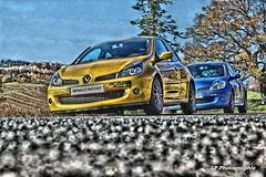 Hdr (R27ludo) Tags: r27 renaultsport renault sport rs jaune sirius bleu monako f1team f1 team 50mm canon hdr