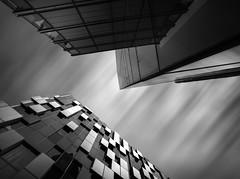 blocks (Illogical.) Tags: architecture sony london city black bw blackandwhite blocks mono modern zeiss longexposure loxia hoya nd 10stop