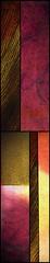 Wood Wall Art Panels (t i a m a r i e) Tags: woodpanelswoodwallart wallart abstract highlandsstudio tiamariemcdermid purple pink yellow browns