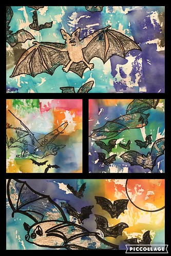 #BatWeek Art by shellyfryer, on Flickr