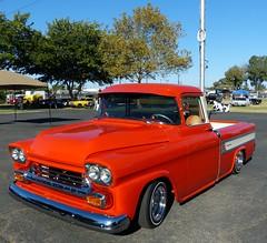 Chevrolet Cameo (bballchico) Tags: hevrolet cameo pickuptruck billetproof carshow 1950s