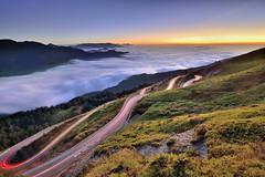 ~~ Sunset (Shang-fu Dai) Tags:  taiwan    3080m  seaofclouds sunset hehuan nikon d800e mthehuan  landscape  formosa