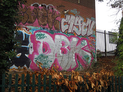 DBK Crew - Graffiti Bristol (Oliver_Parton) Tags: art alone white writing wall writtenword wes exposure rooftop roof road roller reflection tag throwup trackside top throwie train tracks throw tunnel tarmack yard urban up uk piece paint peice portrait pigs people portugal spray street sticker stencil station streets side dark dowt des face fire graffiti graff gloucester grey guns highway handstyle hills jam kimbo ck1 sky leake london lonesome long limbo light lights landscape lews black cheltenham bristol dbk crew sesk bleak young