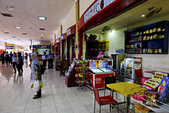 Shops outside the arrival hall (A. Wee) Tags: indonesia  yogyakarta jog airport