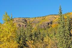 Colorfull Hills (MIKOFOX  Show Your EXIF!) Tags: canada fujifilmxt1 yukon aspen fall spruce rocks hill landscape september xt1 showyourexif mikofox xf18135mmf3556rlmoiswr