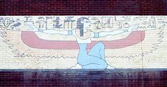 DSC_3209 (Patrick Hadfield) Tags: hieroglyphs painting pictogram wall brick egyptian art