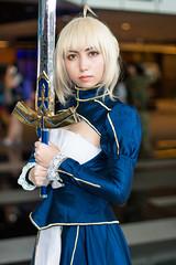 Saber (aenghoe) Tags: cosplay cosplayer anime animefestivalasia fatestaynight
