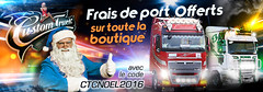 CTC Decembre 2016 (X-FAB) Tags: banner trucking truck daf scania camion montpellier christmas noel volvo mercedes fh4 actros renault toulouse custom chrom