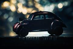 Beatles/Beetles (Carrie McGann) Tags: beatles album letitbe volkswagen beetle bug hotwheels mattel bokeh macromondays beatlesbeetles 112816 nikon interesting