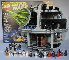 Star Wars LEGO 75159 Death Star (KatanaZ) Tags: starwars lego75159 deathstar princessleia hansolo hansolostormtrooperdisguise lukeskywalkertatooine lukeskywalkerstormtrooperdisguise lukeskywalkerfinalduel r2d2 c3po obiwankenobi chewbacca darthvader grandmofftarkin emperorpalpatine imperialnavyofficer imperialofficer stormtroopers deathstartroopers emperorsroyalguards deathstargunners deathstardroid imperialastromech lego minifigures