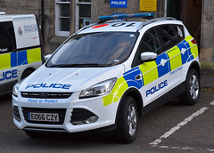 EO66CZY (Cobalt271) Tags: eo66czy northumbria police new ford kuga 20 tdci 4x4 npt vehicle proud to protect livery