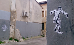 DANCER IN THE STREET (streetwarriors) Tags: ludwig ludwigraphik collage kogi streetart streetwarriors paste up