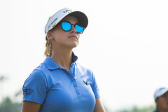 Belen Mozo of Spain looking cool in her shades during the final round (Ladies European Tour) Tags: mozobelenesp newdelhi india ind