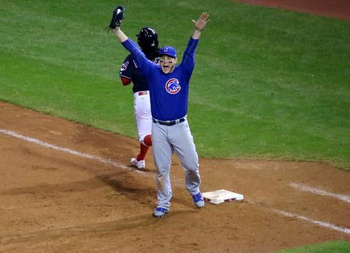 Cubs first baseman Anthony Rizzo celebra by apardavila, on Flickr