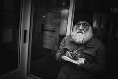 025-365-2016 (dagomir.oniwenko1) Tags: oldman street style sigma sigmadc1750 beard face eat ritratto retrato candid canon canoneos7d flickr human portrait portret person people portraits portraitworld poprtrait blackandwhite bw