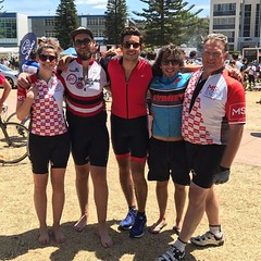 Post-Gong ride pick of Team Bondi Bikers. Great effort