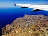 Malta from the air. (In Julie's lens) Tags: plane window seat malta avion trip travel traveling explore europe sea summer flight