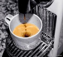 Coffee please (stefanobarabino) Tags: colorsplash splash canon canon1200d tazzina gocce caffè drops bw nespresso cup morning coffee