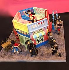 Cake International Birmingham- novelty silver award (The Cakatier at Sugar-Daisies) Tags: labocacake laboca caminitocake caminito argentinetangocake argentinetango
