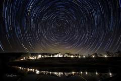 Winshape Star Trails (Jason Blalock) Tags: startrails stacking photostacking longexposure canon7dmark2 canon7dm2 canon7dmarkii canon7dmii berry berrycollege winshape winshaperetreat night nightphotography sky star stars