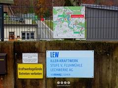 Schilder > Hinweisschild / Iller -der Fluss > Fluhmhle (warata) Tags: 2016 deutschland germany schilder signs hinweisschild