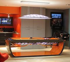 Billardtisch Black Light orange (buschbillards) Tags: billardtisch exklusiv