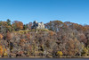 Gillete Castle Seen from the ferry across the Connecticut River (crapgame123) Tags: connecticut connecticutriver 2016 gillettecastle