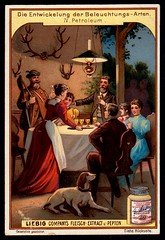 Liebig Tradecard S591 - Petrol Light (cigcardpix) Tags: tradecards advertising ephemera vintage chromo liebig