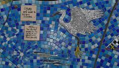 Yarmouth Castle Mosaic IOW -031116 (11) (ailognom2005) Tags: yarmouthcastle yarmouth mosaic isleofwight artwork art urbanart helengoodman birds wildlife naturalhistory
