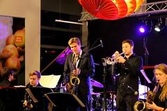 Simon Rigter & Laurie Carpenter 7467-4_8672 (Co Broerse) Tags: music composedmusic contemporarymusic jazz jazzfest jazzfestamsterdam amsterdam 2016 studiok cobroerse cva conservatoriumvanamsterdam jazzdepartment concertjazzband simonrigter saxophone lauriecarpenter trumpet