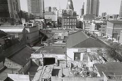 Whitechapel (goodfella2459) Tags: nikon f4 kodak trix 400 35mm black white film analog whitechapel london city buildings milf