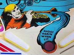 Blue Note (scottamus) Tags: pinball machine game table arcade playfield layout graphics design art artwork bluenote gottlieb 1979