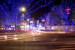 11C (Tokyo Street Photography) Tags: ajpscs japan nippon  japanese  tokyo  nikon d750 tokyostreetphotography night nightshot tokyonight nightphotography citylights tokyoinsomnia nightview tokyoyakei  lights hikari  dayfadesandnightcomesalive afterdark timepasses seasonchange fall autumn aki   urbannight shitamachi   shibuya 11c 710pm