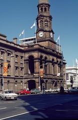 Australia. Adelaide. !980. (pszz) Tags: city australia clocktower adelaide townhall