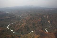 River crossing South Kivu mountains (MONUSCO) Tags: drc rdc southkivu