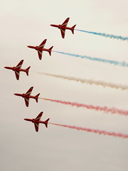 Red Arrows Royal Air Force Aerobatic Display Team Air Show Clacton-On-Sea Aug 2015 G (symonmreynolds) Tags: plane aircraft august airshow summertime essex redarrows clactononsea 2015 royalairforceaerobaticdisplayteam