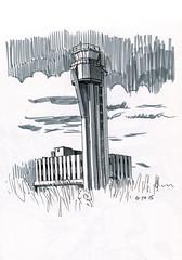 Stapleton tower (paul heaston) Tags: art illustration notebook sketch artwork drawing journal sketchbook urbansketching urbansketchers