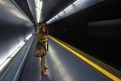 Mtro de Naples, station Toledo (pdellouve) Tags: city urban italy underground subway mtro transport tube toledo napoli naples italie urbex
